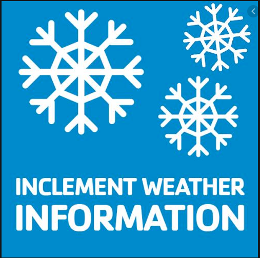 Inclement Weather Day -- 2.15.21