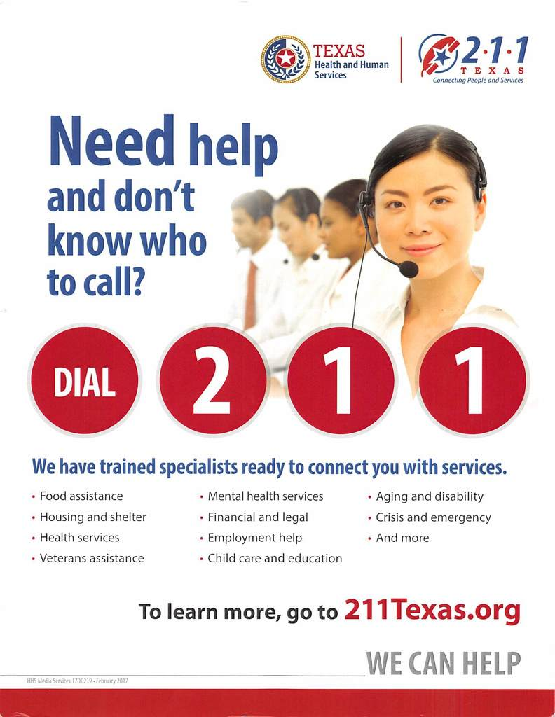Texas Health & Human Services Flyer (English & Spanish)