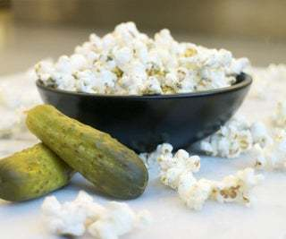 pickles and popcorn