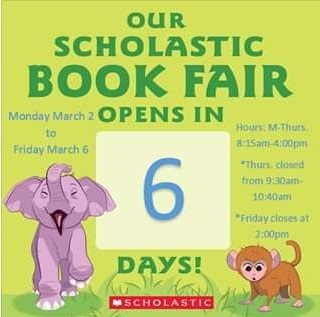 Bookfair in 6 days