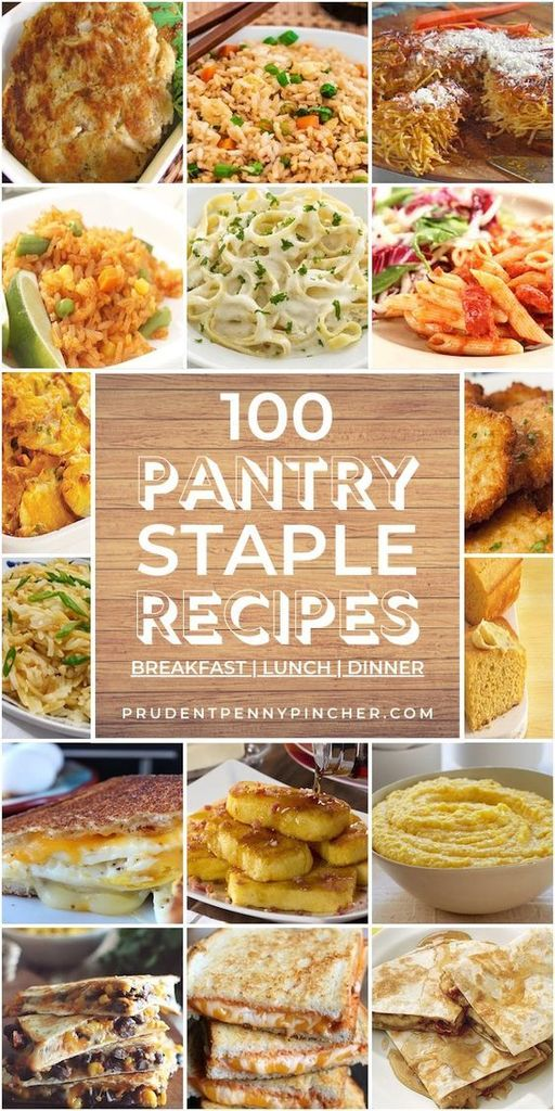 pantry staple recipes